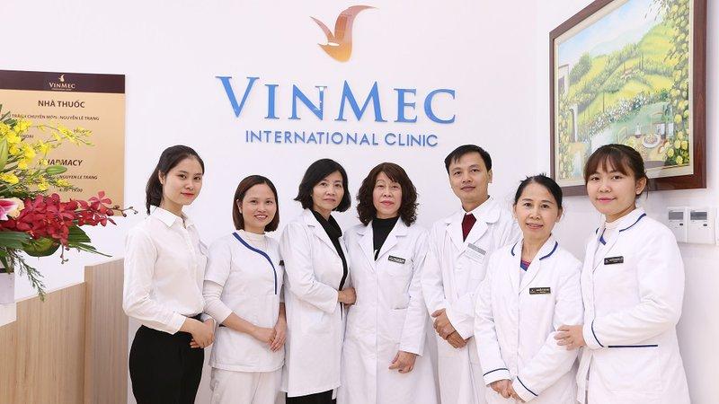 Đội ngũ bác sĩ, điều dưỡng tại Phòng khám Vinmec Gardenia