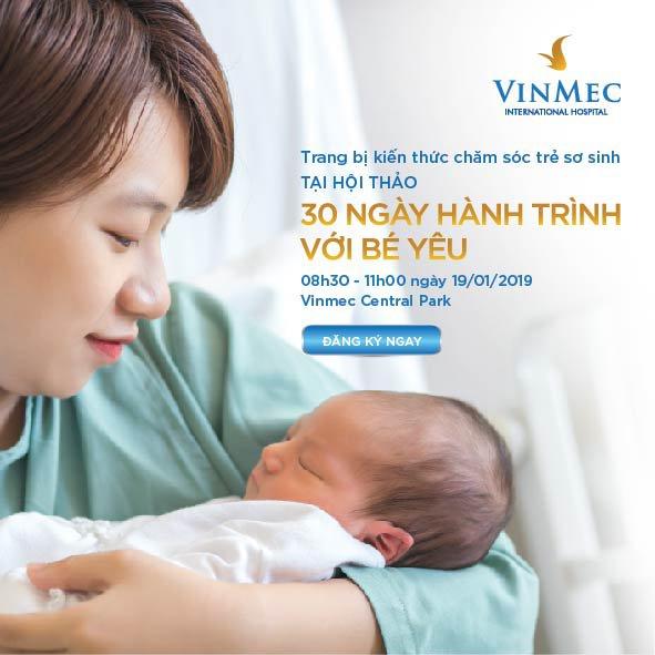 VMCP_Hội thảo ''30 ngày hành trình với bé yêu''