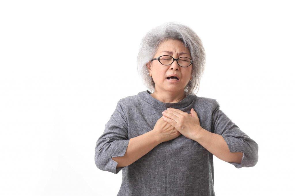 Đau tức ngực khó thở