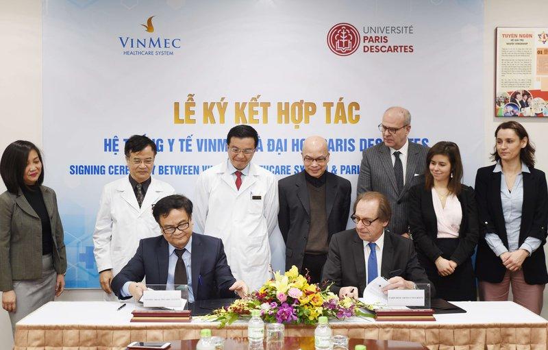 Vinmec hợp tác với đại học hàng đầu nước Pháp về đào tạo nhân lực y tế