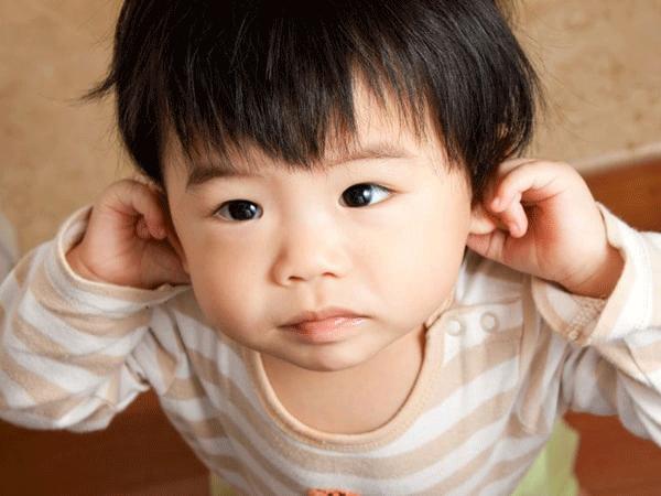 Viêm tai giữa ở trẻ em