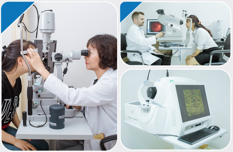 Các phẫu thuật mắt được thực hiện ở bệnh viện Vinmec