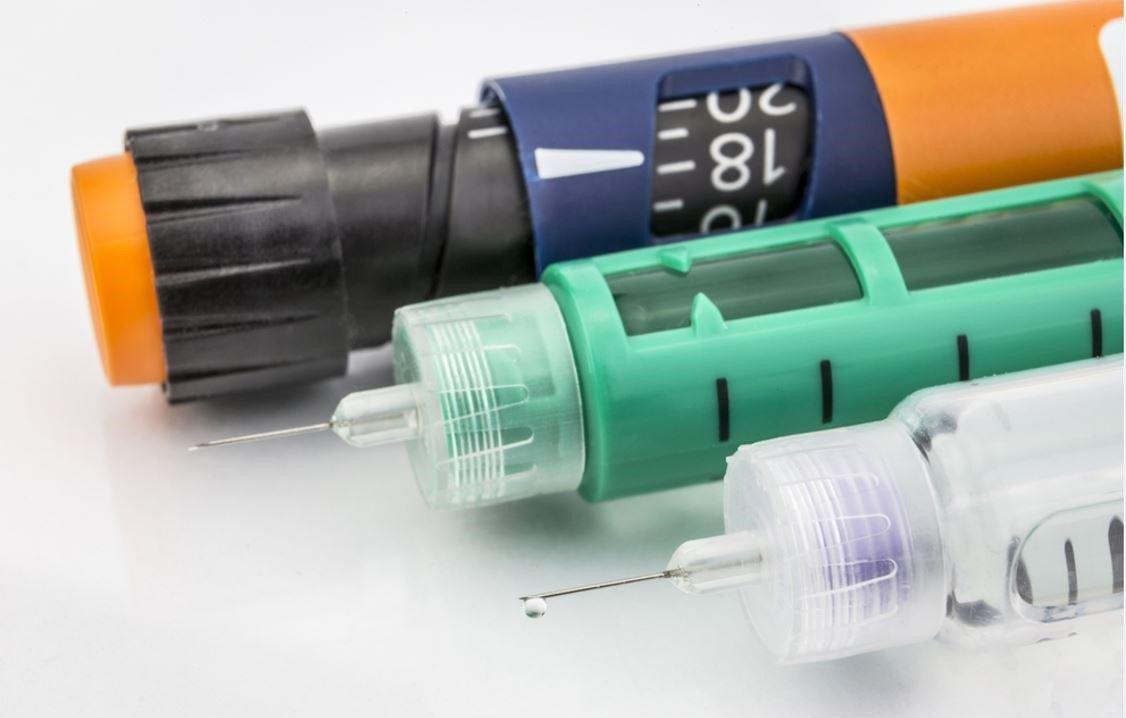 Dạng bút tiêm insulin điều trị đái thái đường type 2