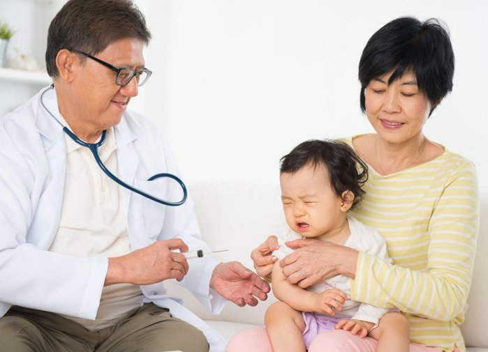 Tiêm phòng vắc xin sởi cho trẻ