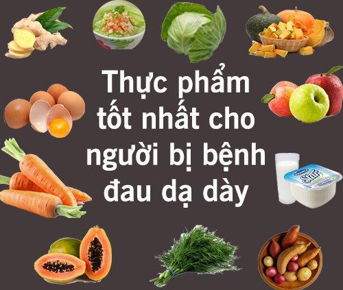 Đau dạ dày ăn gì ?