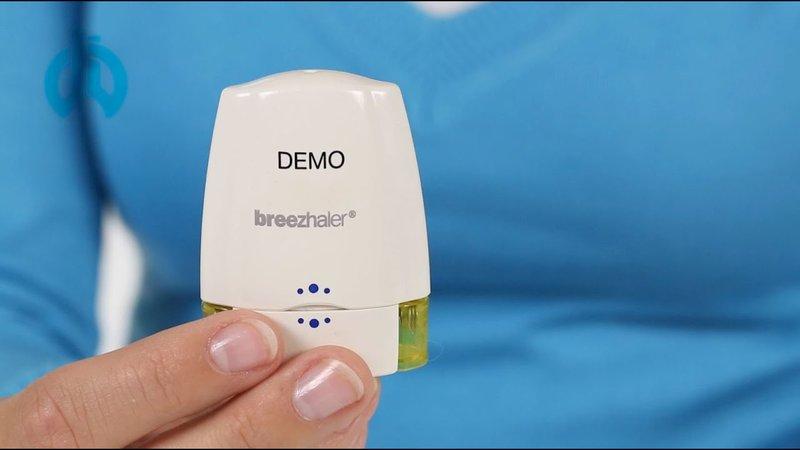 Hướng dẫn sử dụng máy hít Breezhaler