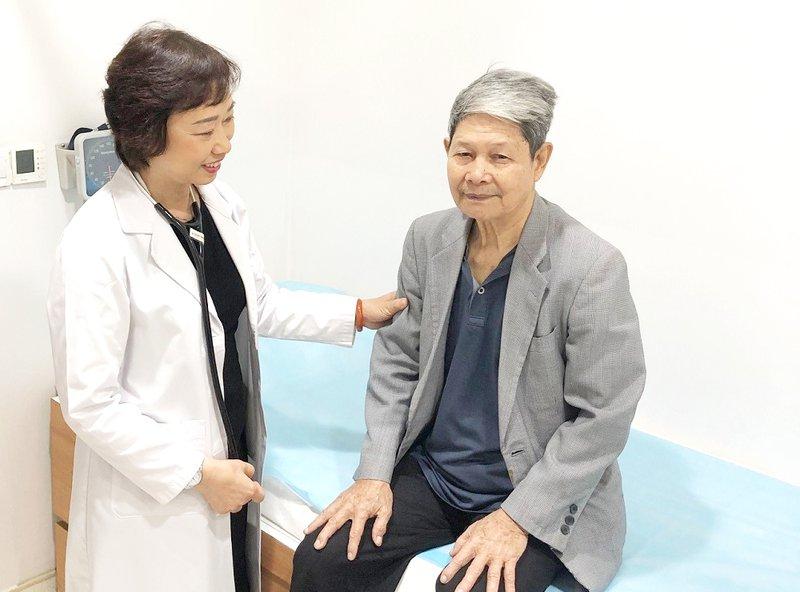 Bệnh nhân Nguyễn Thế Bản