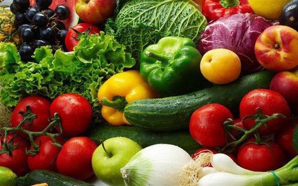 Rau củ quả là thực phẩm tốt cho người mắc bệnh mỡ máu