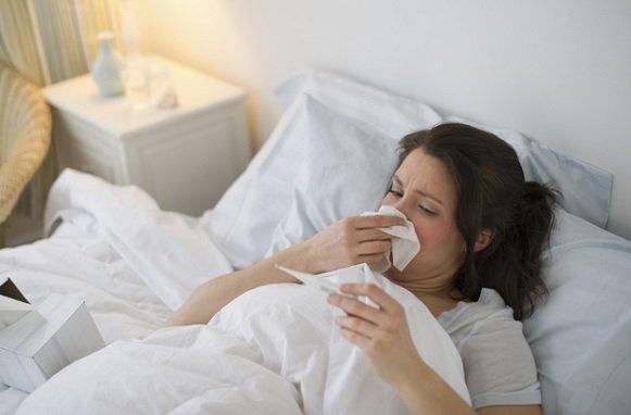 Sốt, sổ mũi khi bị cúm A/H1N1