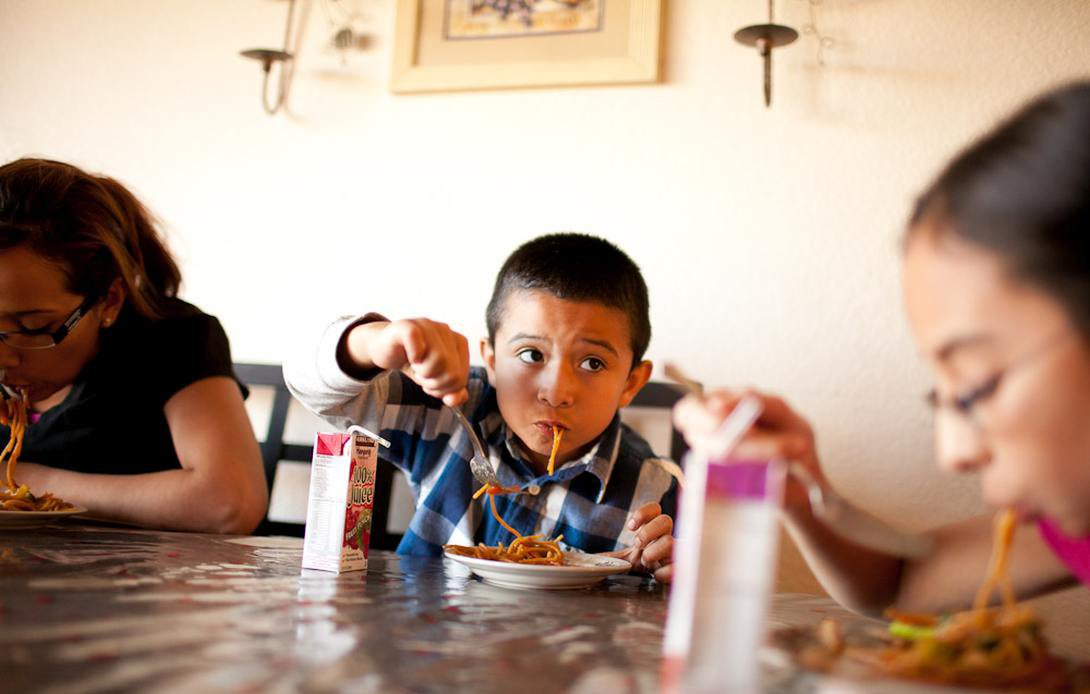 Trẻ thường xuyên cảm thấy đói