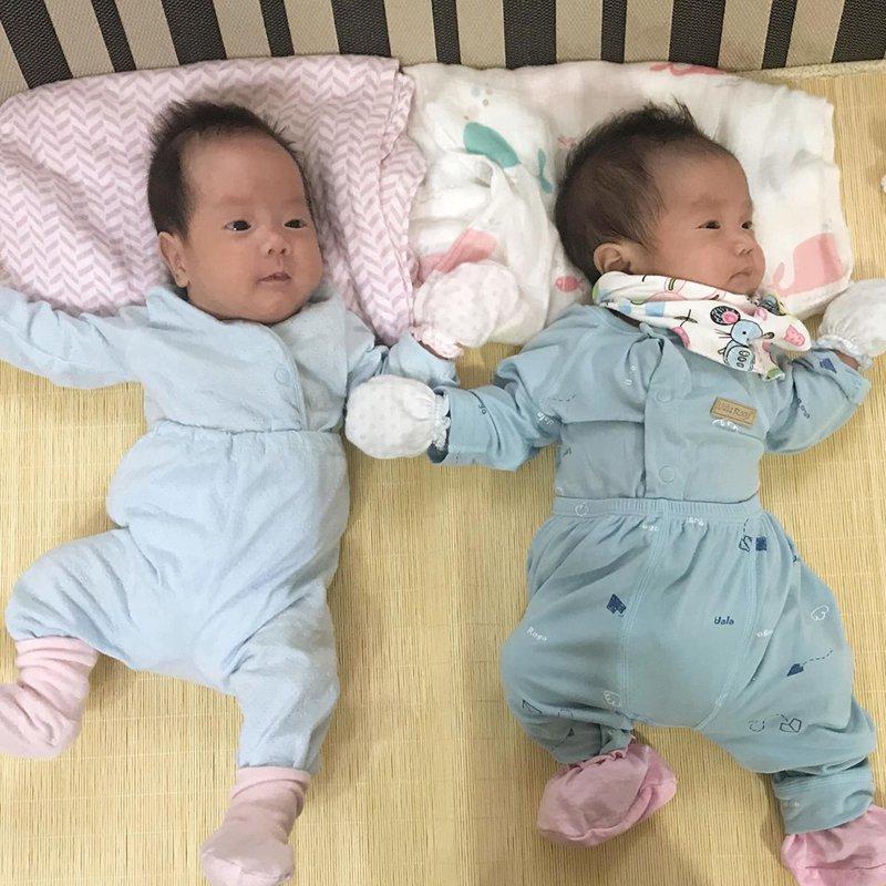 2 bé được thụ tinh nhân tạo của gia đình chị Nguyễn Bích Ngọc