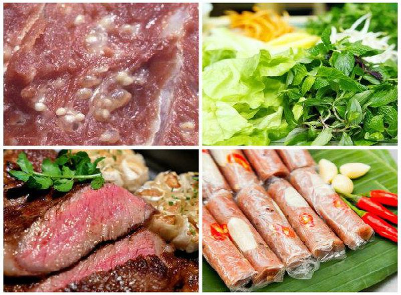 3 cách nhiễm sán lợn qua đường ăn uống