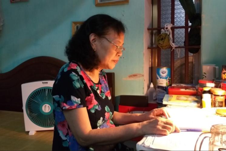 Bệnh nhân Hoàng Thị Kim Cúc