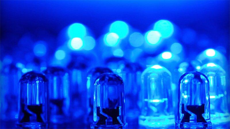 Đèn led xanh