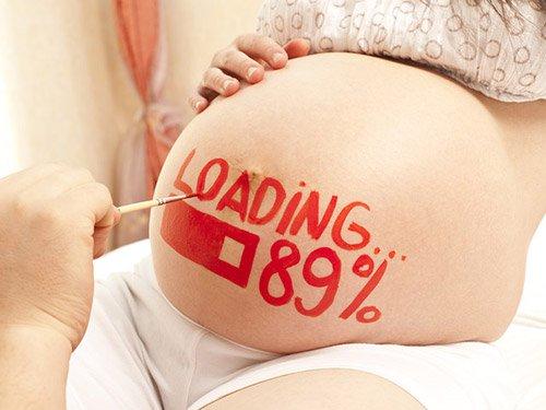 Dấu hiệu sắp sinh con trước 1 tuần