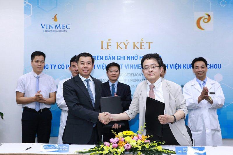 VInmec ký kết hợp tác với bệnh viện Kurume Chou