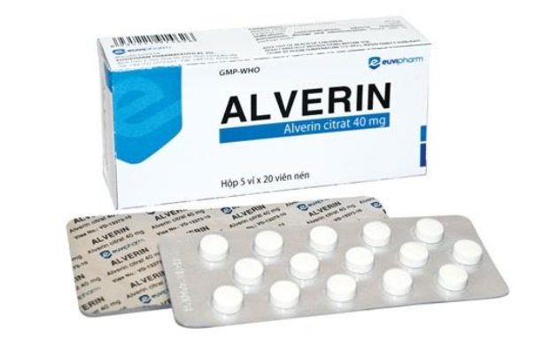 Thuốc giảm đau bụng kinh Alverin