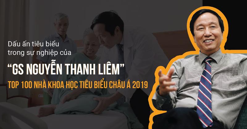 sự nghiệp với nhiều dấu ấn của giáo sư Nguyễn Thanh Liêm
