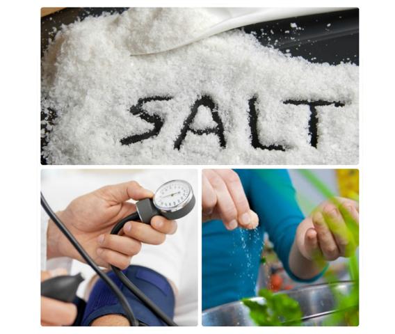 Muối ăn hại cho huyết áp và thận