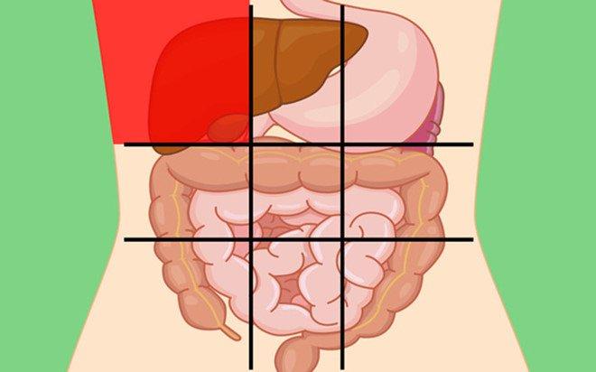 Vị trí đau bụng cảnh báo bệnh gì?