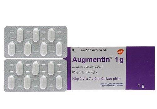 Các loại hàm lượng của thuốc Augmentin