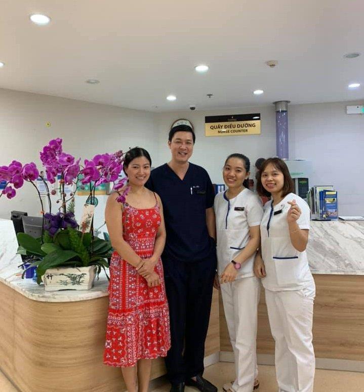 Thư cảm ơn của khách hàng bị đau ruột thừa tại VMĐN