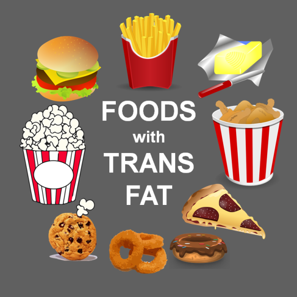 Trans fat có ở đâu