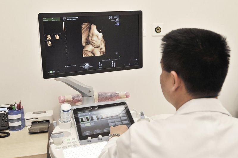 Siêu âm đo độ mờ da gáy ở tuần thai nào?