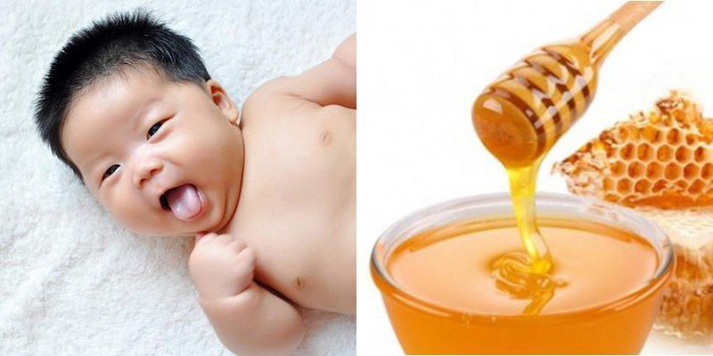 Dùng mật ong vệ sinh miệng cho trẻ nhỏ: Nên hay không nên?