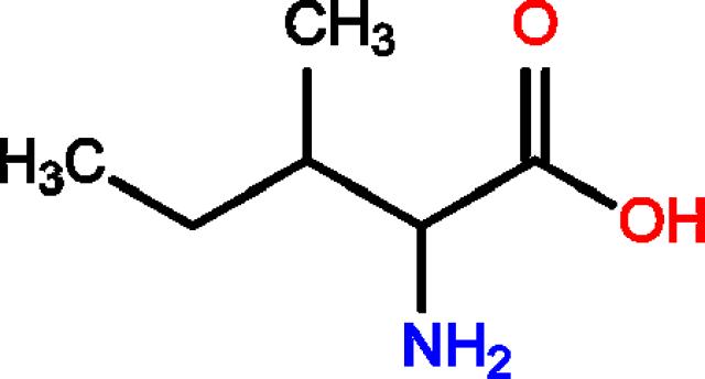 Kết quả hình ảnh cho L-Isoleucine cấu tạo