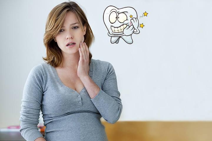 Mẹ bầu cần làm gì khi bị nhức răng sâu: