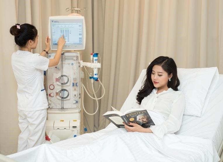 Phòng điều trị dành cho bệnh nhân chạy thận nhân tạo