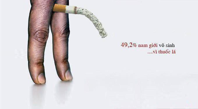 Tác hại của thuốc lá với nam giới