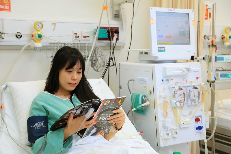 Hệ thống phòng điều trị dành cho bệnh nhân chạy thận nhân tạo theo tiêu chuẩn quốc tế