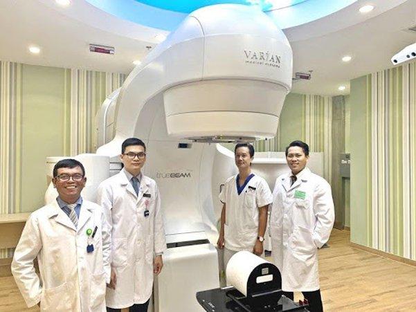 Máy xạ trị Truebeam của hãng Varian (Mỹ)