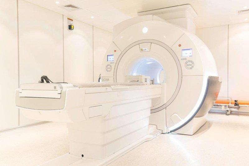 Hệ thống máy chụp cộng hưởng từ MRI 3.0 Tesla hiện đại tại Bệnh viện Vinmec Hải Phòng