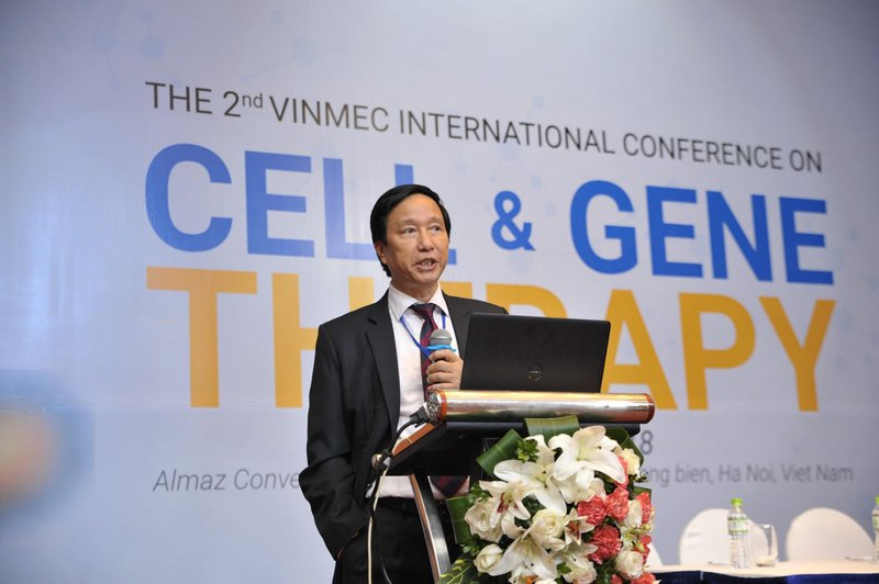 GS.TS Nguyễn Thanh Liêm - Viện trưởng Viện nghiên cứu Tế bào gốc và công nghệ gen Vinmec