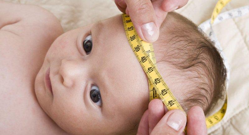 Chỉ số chu vi vòng đầu của trẻ sơ sinh theo độ tuổi