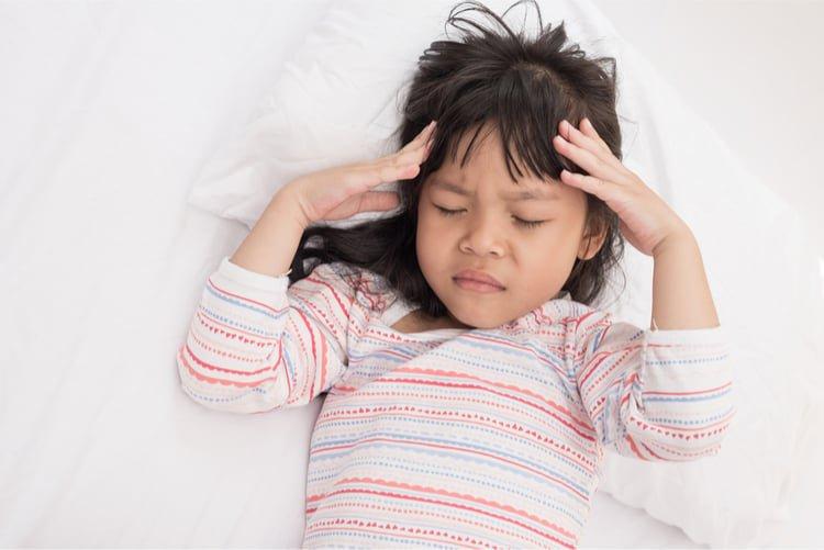 Trẻ đau đầu
