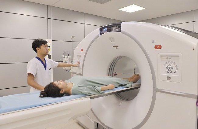 Chụp CT để chẩn đoán lâm sàng u màng não