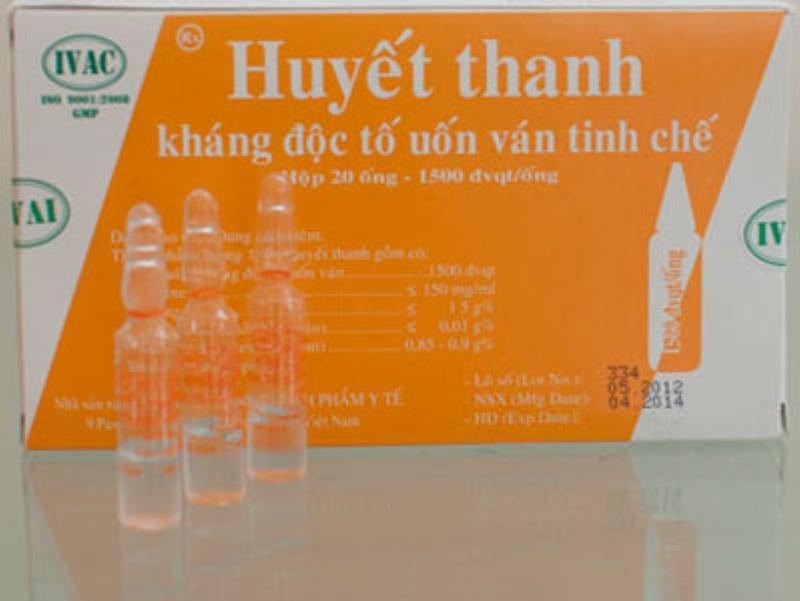 Huyết thanh kháng độc tố uốn ván