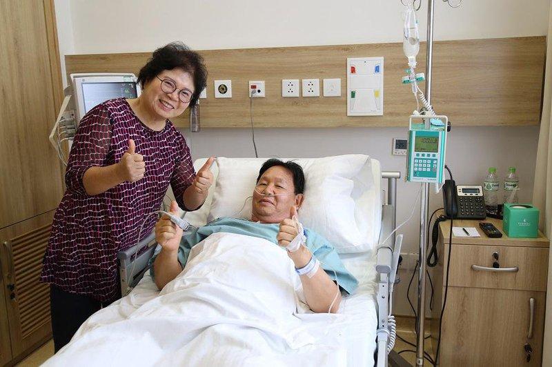 Cấp cứu bệnh nhân Hàn Quốc bị nhồi máu cơ tim