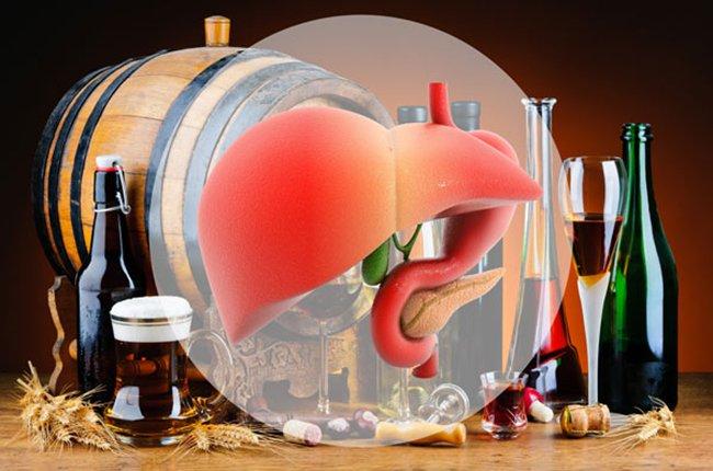 Ảnh hưởng của rượu bia tới gan