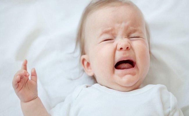 Trẻ quấy khóc nhiều
