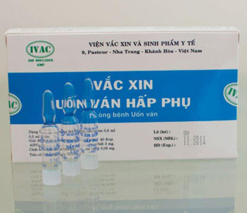 Uốn Ván hấp phụ (Việt Nam)