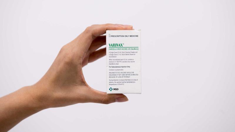 Vắc-xin thủy đậu Varivax (Mỹ)