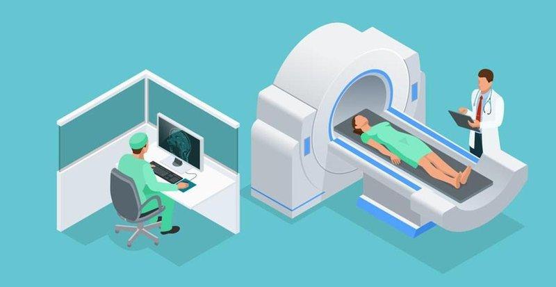 Mô phỏng chụp CT mạch máu não