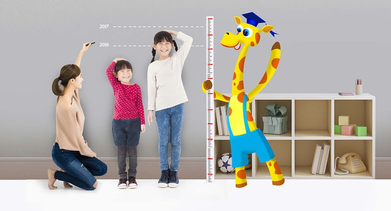 Tăng chiều cao cho trẻ