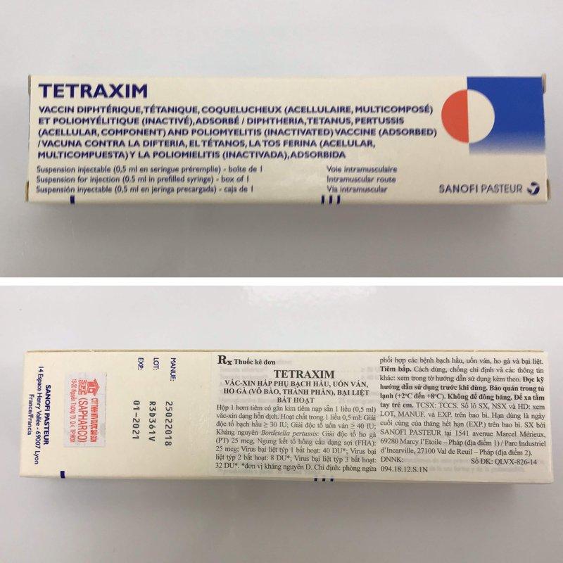 Vacxin Tetraxim