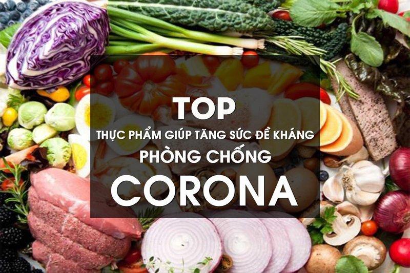 Corona thực phẩm